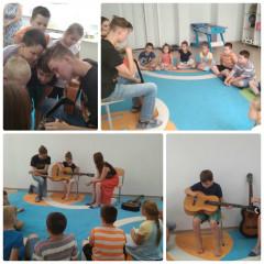 День Музыки в летнем лагере!