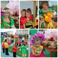 Яблочный Спас в детском саду!