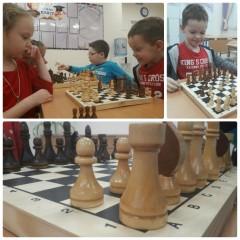 Турнир по шахматам в начальной школе!